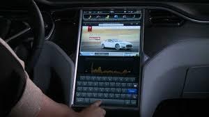 Tesla monitor